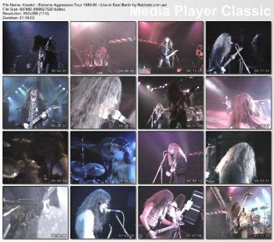 Kreator - Extreme Aggression Tour 1989-90 (1990)