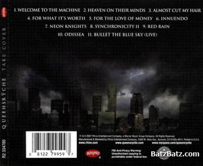 Queensryche - Take Cover (2007) (Lossless)