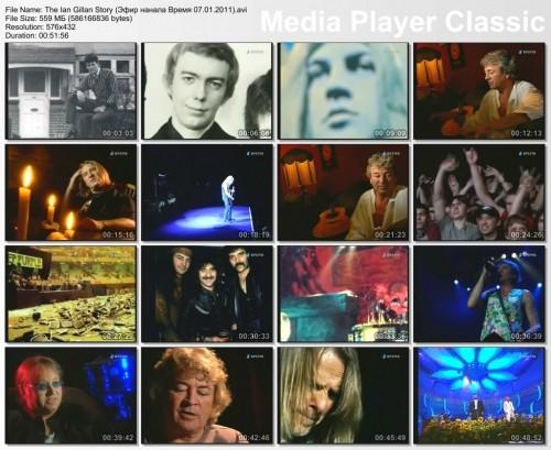 "The Ian Gillan Story (Эфир нанала ""Время"" 07.01.2011) (TV rip)"