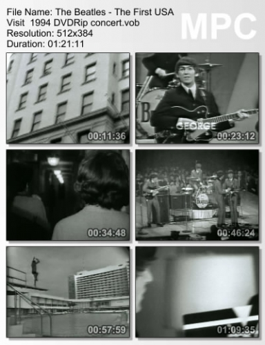The Beatles - The First U.S. Visit  1964 (1994) (DVDRip)