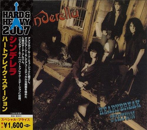 Cinderella - Heartbreak Station 1990 (Japanes Edition 2007) (Lossless+Mp3)