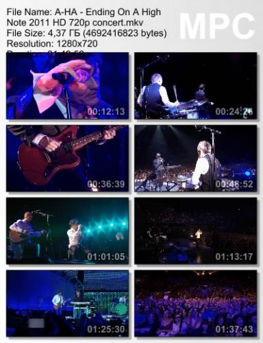 A-HA - Ending On A High Note - The Final Concert 2011 (BDRip)
