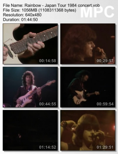 Rainbow - Japan Tour 1984 (DVDRip)