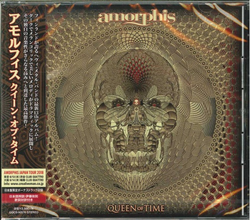 Amorphis - Queen Of Time (Japanese Edition) 2018