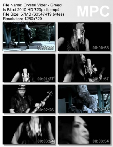 Crystal Viper - Greed Is Blind 2010