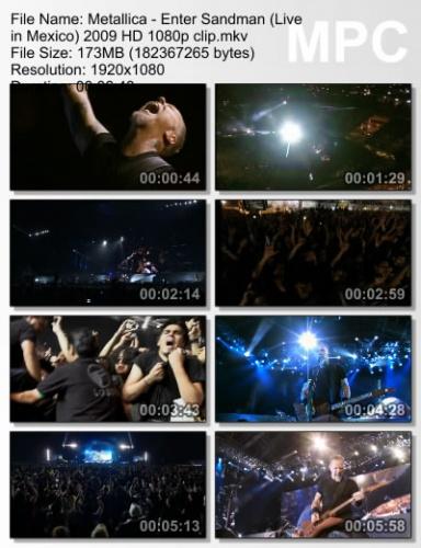Metallica - Enter Sandman (Live in Mexico) 2009