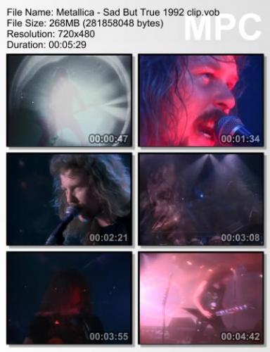 Metallica - Sad But True 1992
