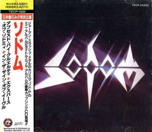 Sodom - Obsessed By Cruelty+Expurse Of Sodomy+In The Sign Of Evil (1990) (LOSSLESS)