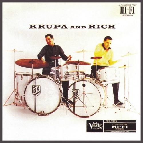 Gene Krupa, Buddy Rich - Krupa And Rich (1955) (Remastered, 1994) Lossless