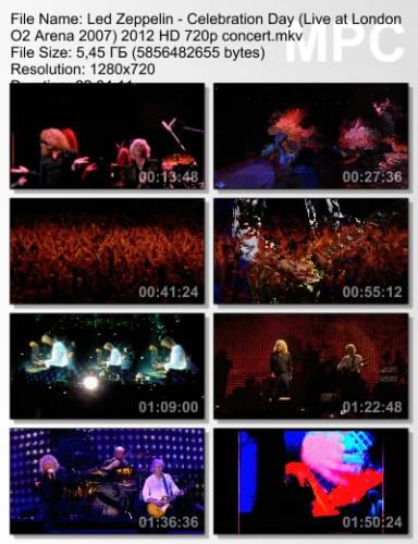 Led Zeppelin - Celebration Day (Live at London O2 Arena 2007) 2012 (BDRip)