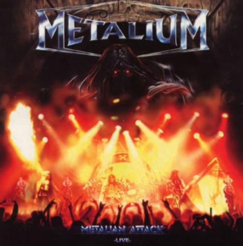 Metalium - Metalian Attack (Bonus Live CD) 2001