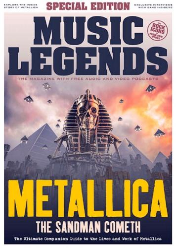 Журнал Music Legends - Metallica: Special Edition 2019