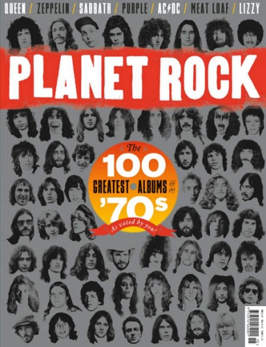 Журнал Planet Rock - The 100 Greatest Albums 70's  2019 Issue 15