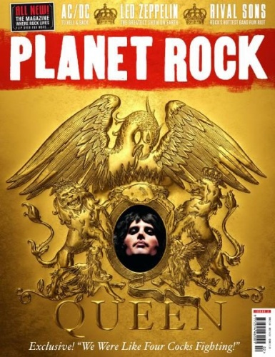 Журнал Planet Rock - July 2017