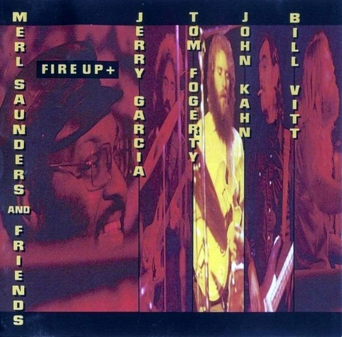 Merl Saunders And Friends - Heavy Turbulence / Fire Up (1972-73) [1992] Lossless