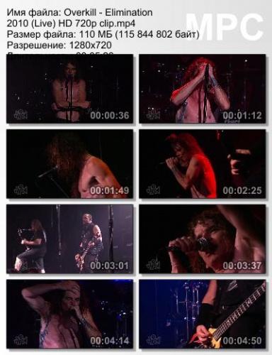 Overkill - Elimination 2010 (Live)