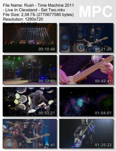 Rush - Time Machine : Live in Cleveland 2011 (BDRip)