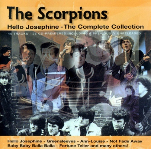The Scorpions - Hello Josephine, The Complete Collection (1965-66) (1998) 2CD Lossless